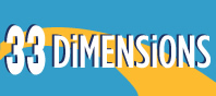33 Dimensions Logo